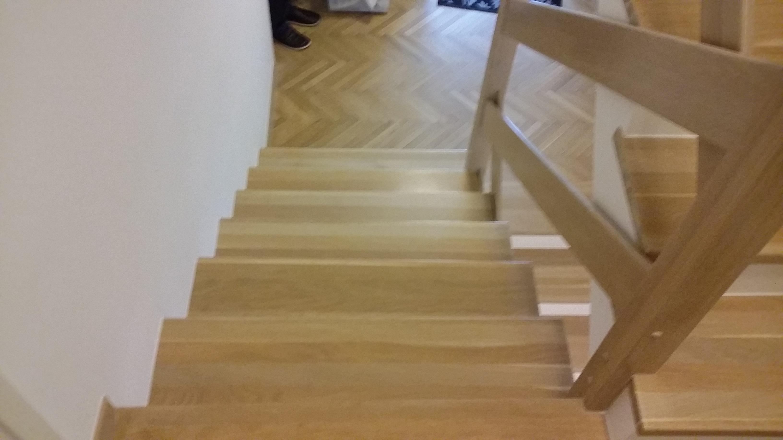 Estetsko izdelane stopnice 12