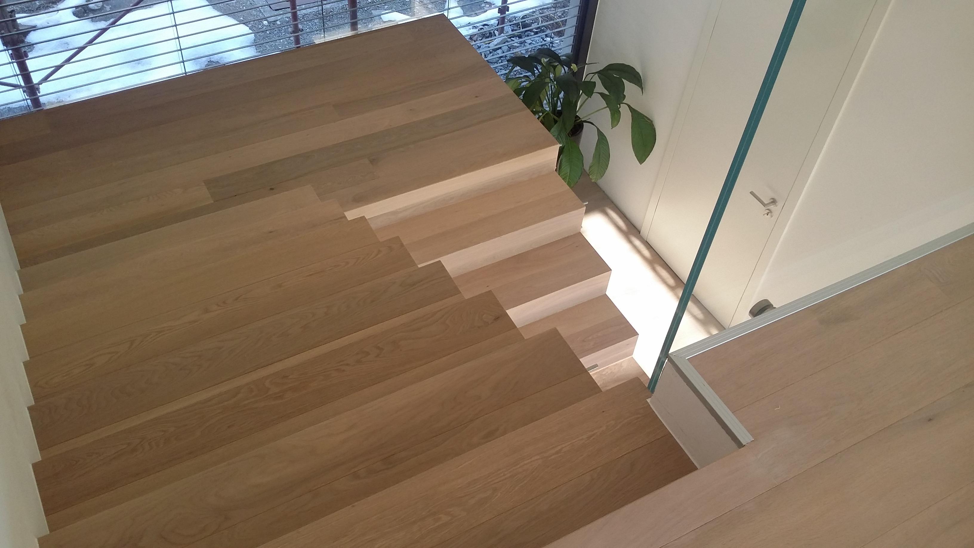 Estetsko izdelane stopnice 15