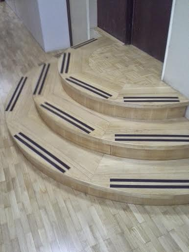 Estetsko izdelane stopnice 26
