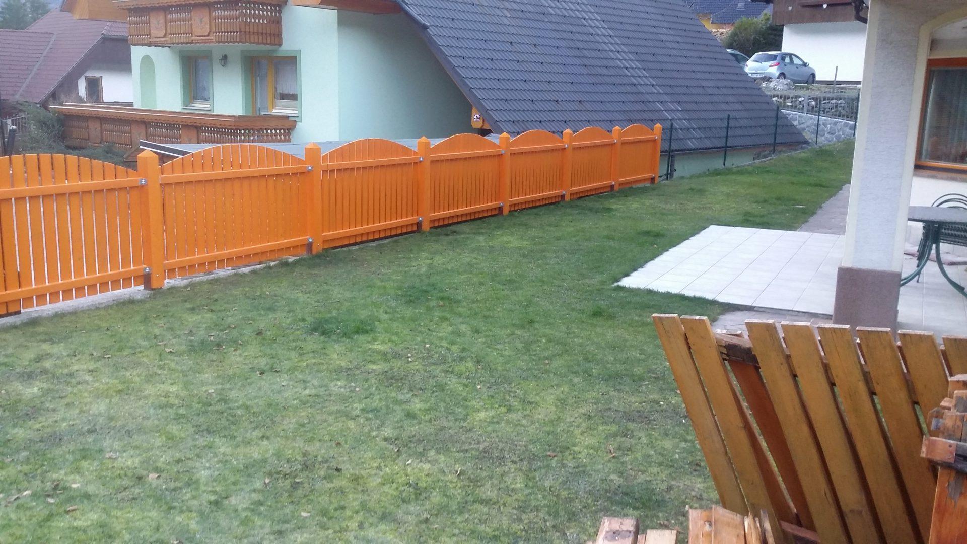 Lesene ograje za zunaj ali notranjost 3