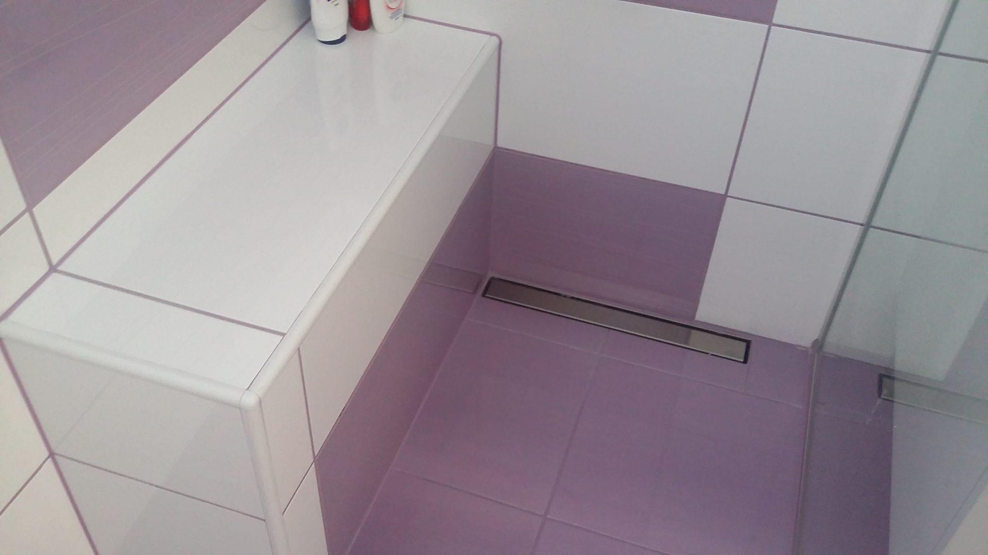 Polaganje ploščic v kopalnici 28