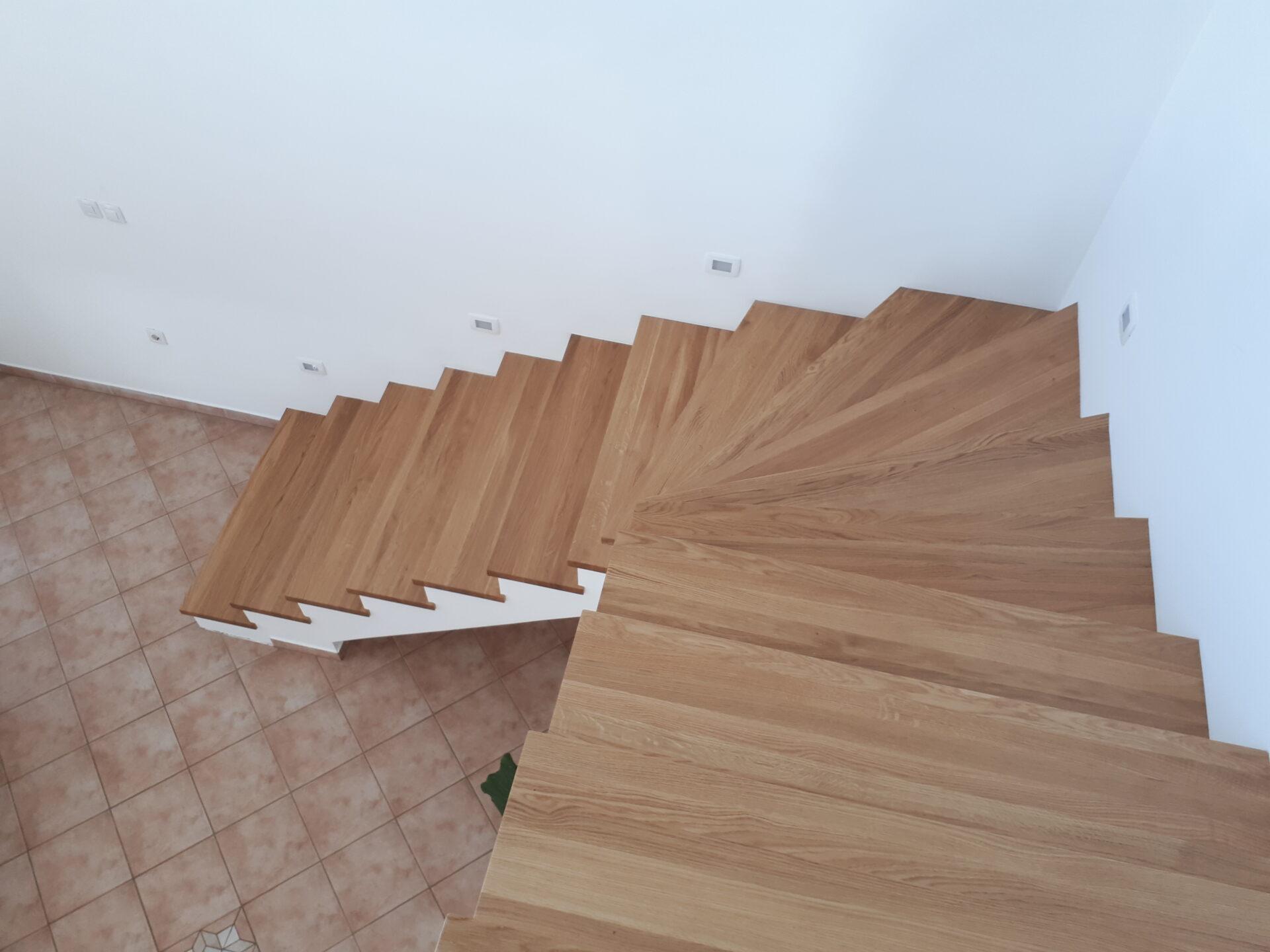 Izdelava notranjih stopnic 3
