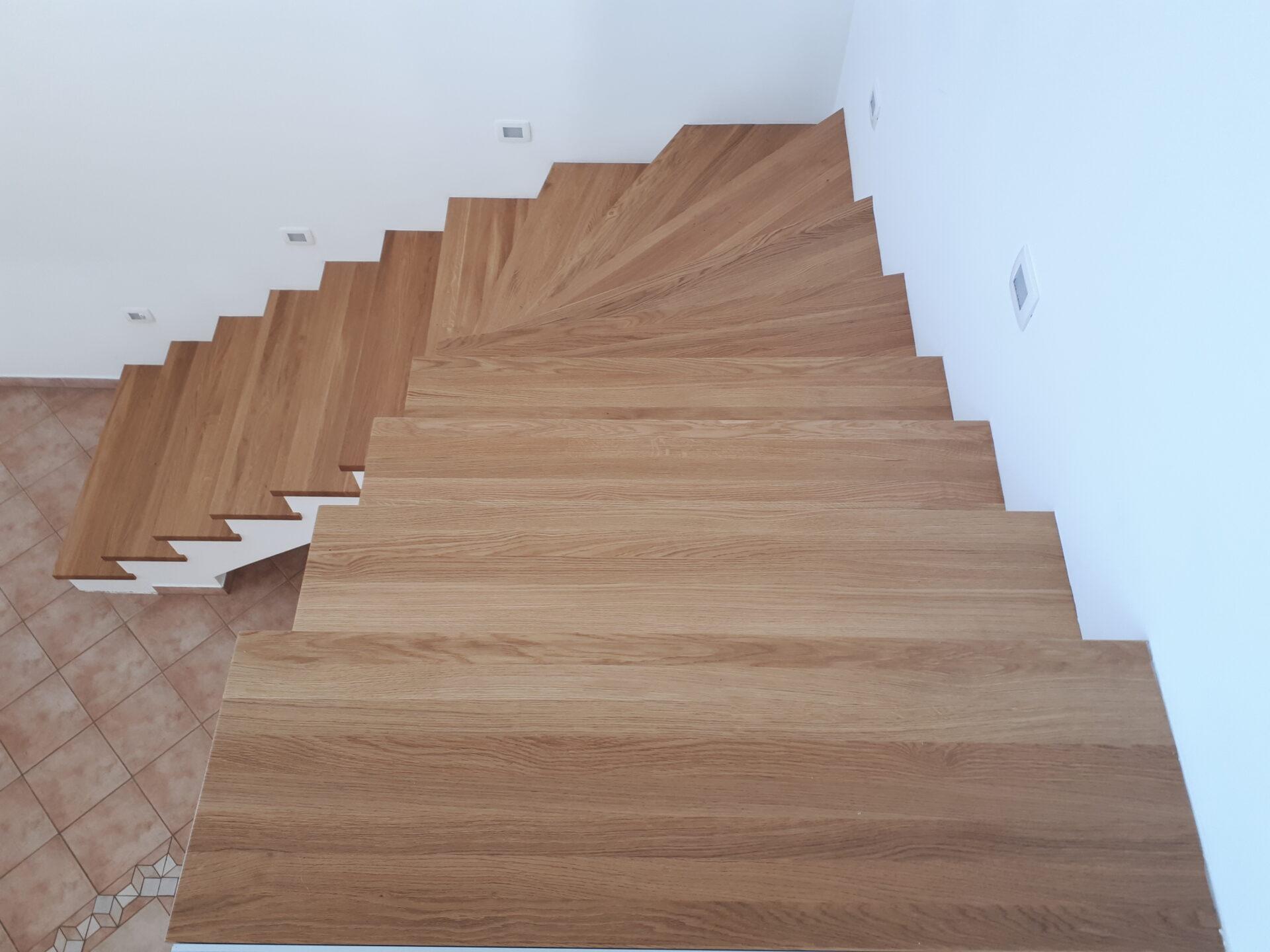 Izdelava notranjih stopnic 4